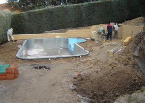 excavación piscinas, Josman