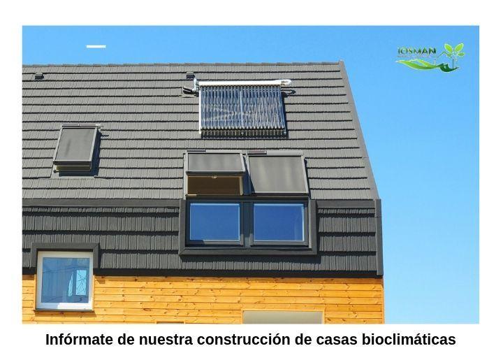 Construcción de vivienda bioclimatica, Casas pasivas Josman